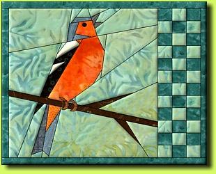 Regina Grewe Textile Landscapes Patterns Garden Birds