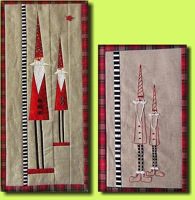 Regina Grewe - Textile Landschaften - Muster - Wichtel