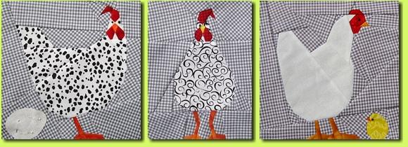 Regina Grewe - Textile Landschaften - Kostenlose Muster - Petrilla